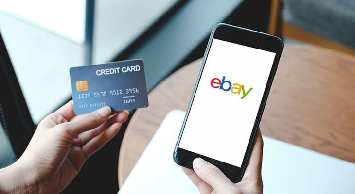 Ebay and credit card payments