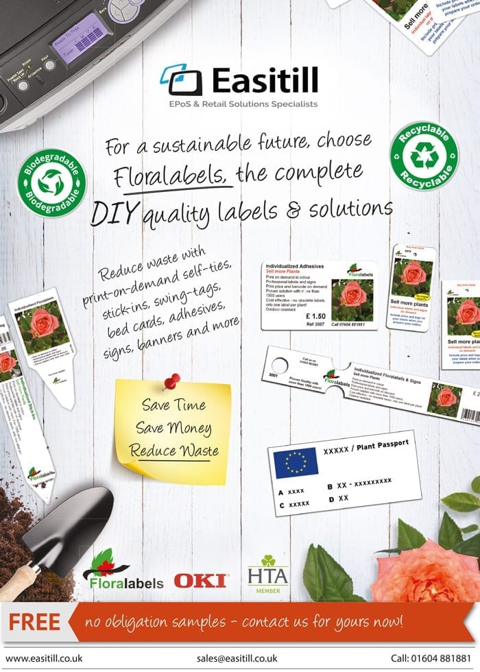 Recyclable labels - Floralabels Sustainable, biodegradable