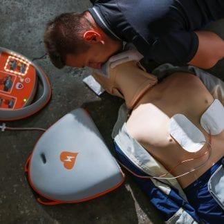 CPR Dummy First Aid at Work Annual Refresher Glasgow (QAR)