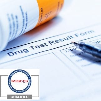 Drugs Test Results Form photo