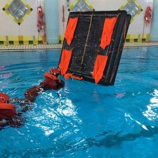 Sea survival course training