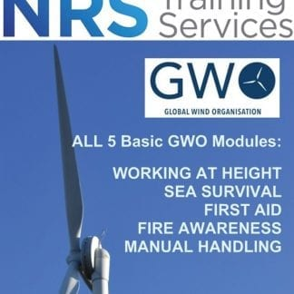 Global Wind Organisation Courses working at height flyer