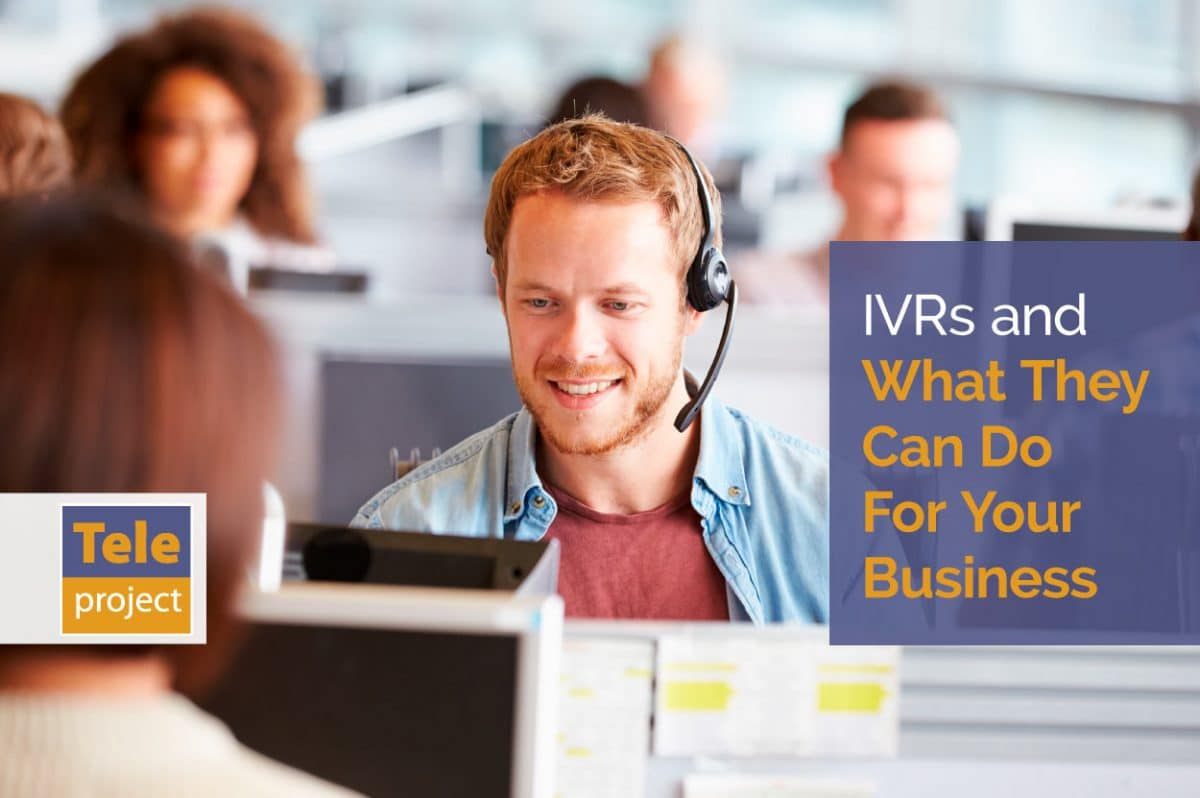 IVRs for your business - man in call centre